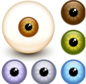 возможные цвета глаз